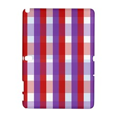 Gingham Pattern Checkered Violet Galaxy Note 1