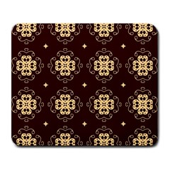 Seamless Ornament Symmetry Lines Large Mousepads