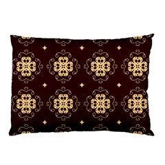 Seamless Ornament Symmetry Lines Pillow Case (Two Sides)