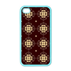 Seamless Ornament Symmetry Lines Apple iPhone 4 Case (Color)