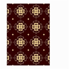 Seamless Ornament Symmetry Lines Small Garden Flag (Two Sides)