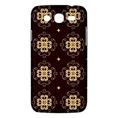 Seamless Ornament Symmetry Lines Samsung Galaxy Mega 5.8 I9152 Hardshell Case