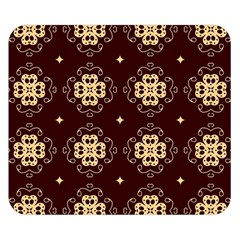 Seamless Ornament Symmetry Lines Double Sided Flano Blanket (Small)