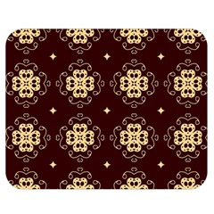Seamless Ornament Symmetry Lines Double Sided Flano Blanket (Medium)