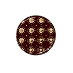Seamless Ornament Symmetry Lines Hat Clip Ball Marker