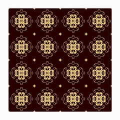 Seamless Ornament Symmetry Lines Medium Glasses Cloth (2 Side)