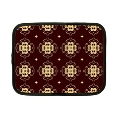 Seamless Ornament Symmetry Lines Netbook Case (Small)