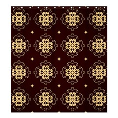 Seamless Ornament Symmetry Lines Shower Curtain 66  x 72  (Large)