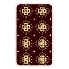 Seamless Ornament Symmetry Lines Memory Card Reader