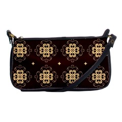 Seamless Ornament Symmetry Lines Shoulder Clutch Bags