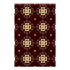 Seamless Ornament Symmetry Lines Shower Curtain 48  X 72  (small)