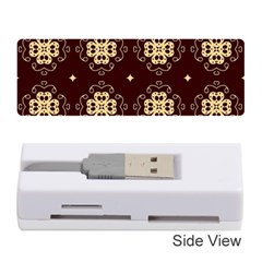 Seamless Ornament Symmetry Lines Memory Card Reader (stick)