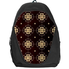 Seamless Ornament Symmetry Lines Backpack Bag