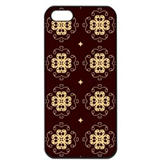 Seamless Ornament Symmetry Lines Apple iPhone 5 Seamless Case (Black)