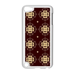 Seamless Ornament Symmetry Lines Apple iPod Touch 5 Case (White)