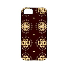 Seamless Ornament Symmetry Lines Apple iPhone 5 Classic Hardshell Case (PC+Silicone)