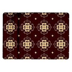 Seamless Ornament Symmetry Lines Samsung Galaxy Tab 10.1  P7500 Flip Case