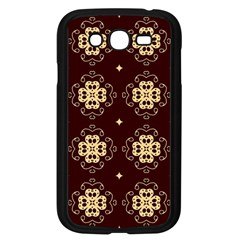 Seamless Ornament Symmetry Lines Samsung Galaxy Grand DUOS I9082 Case (Black)