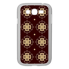 Seamless Ornament Symmetry Lines Samsung Galaxy Grand DUOS I9082 Case (White)