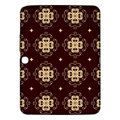 Seamless Ornament Symmetry Lines Samsung Galaxy Tab 3 (10.1 ) P5200 Hardshell Case