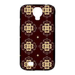 Seamless Ornament Symmetry Lines Samsung Galaxy S4 Classic Hardshell Case (PC+Silicone)