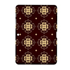 Seamless Ornament Symmetry Lines Samsung Galaxy Tab 2 (10.1 ) P5100 Hardshell Case