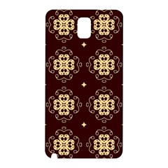Seamless Ornament Symmetry Lines Samsung Galaxy Note 3 N9005 Hardshell Back Case