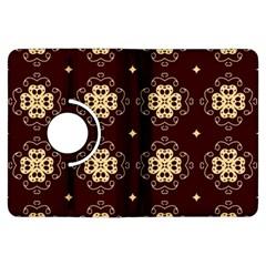 Seamless Ornament Symmetry Lines Kindle Fire Hdx Flip 360 Case