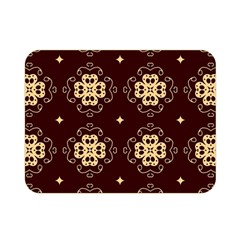 Seamless Ornament Symmetry Lines Double Sided Flano Blanket (Mini)