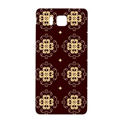 Seamless Ornament Symmetry Lines Samsung Galaxy Alpha Hardshell Back Case