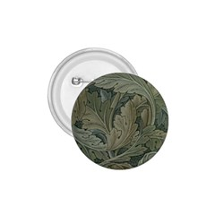 Vintage Background Green Leaves 1 75  Buttons