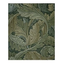 Vintage Background Green Leaves Shower Curtain 60  X 72  (medium)