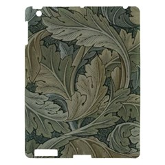 Vintage Background Green Leaves Apple iPad 3/4 Hardshell Case