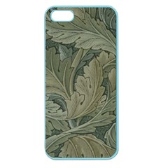 Vintage Background Green Leaves Apple Seamless iPhone 5 Case (Color)