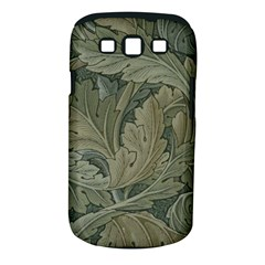 Vintage Background Green Leaves Samsung Galaxy S Iii Classic Hardshell Case (pc+silicone)