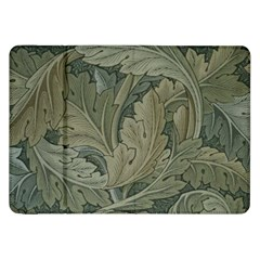 Vintage Background Green Leaves Samsung Galaxy Tab 8.9  P7300 Flip Case