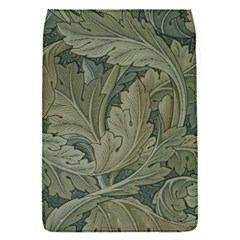 Vintage Background Green Leaves Flap Covers (S)