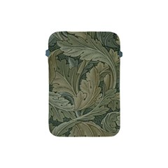 Vintage Background Green Leaves Apple iPad Mini Protective Soft Cases
