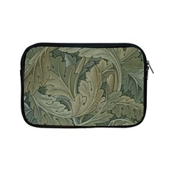 Vintage Background Green Leaves Apple iPad Mini Zipper Cases