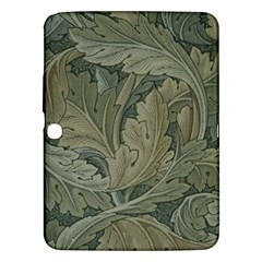Vintage Background Green Leaves Samsung Galaxy Tab 3 (10.1 ) P5200 Hardshell Case