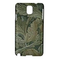 Vintage Background Green Leaves Samsung Galaxy Note 3 N9005 Hardshell Case