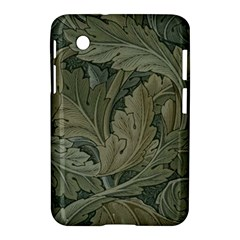 Vintage Background Green Leaves Samsung Galaxy Tab 2 (7 ) P3100 Hardshell Case