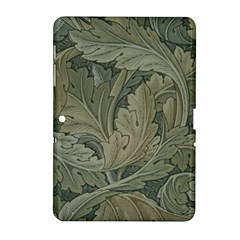 Vintage Background Green Leaves Samsung Galaxy Tab 2 (10.1 ) P5100 Hardshell Case