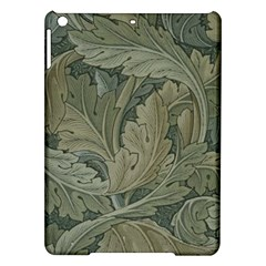 Vintage Background Green Leaves iPad Air Hardshell Cases