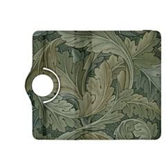 Vintage Background Green Leaves Kindle Fire HDX 8.9  Flip 360 Case