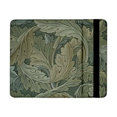 Vintage Background Green Leaves Samsung Galaxy Tab Pro 8.4  Flip Case