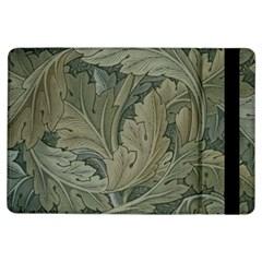 Vintage Background Green Leaves Ipad Air Flip