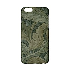Vintage Background Green Leaves Apple iPhone 6/6S Hardshell Case