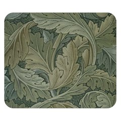 Vintage Background Green Leaves Double Sided Flano Blanket (Small)
