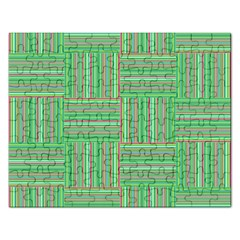 Geometric Pinstripes Shapes Hues Rectangular Jigsaw Puzzl